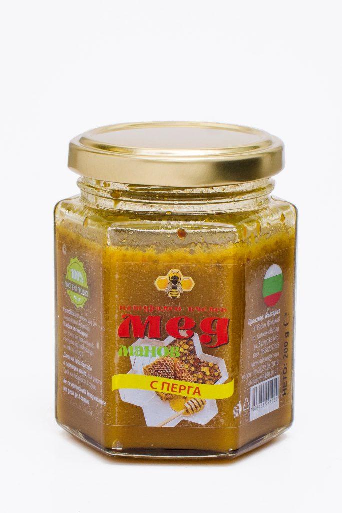 Перга (пчелен хляб) в манов мед